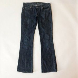 7 For All Mankind Flare Jeans Size  34x34